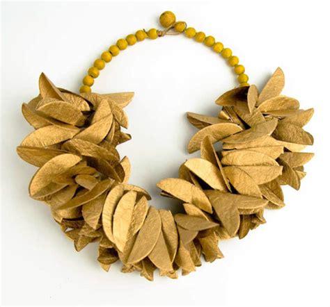 Paper Jewellery - paper jewelry by hagopian