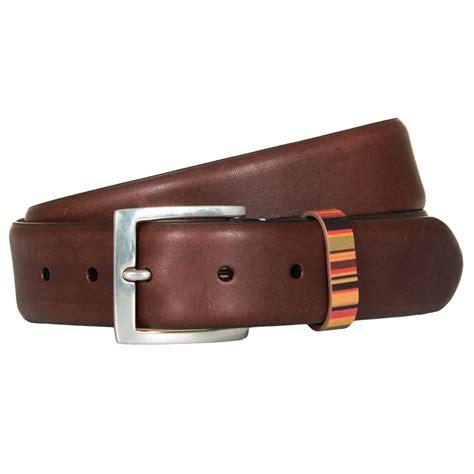 Paul Smith Metal Keepers Belt by Paul Smith Accessories Belts Vintage Stripe Keeper