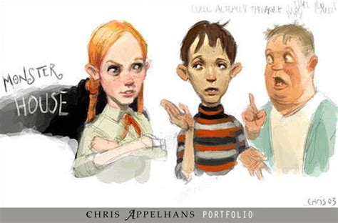 monster house characters wallpaper by liviusquinky on living lines library monster house 2006 concept art