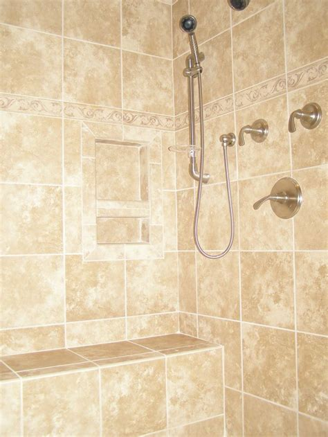 ceramic tile showers without doors ceramic tile shower