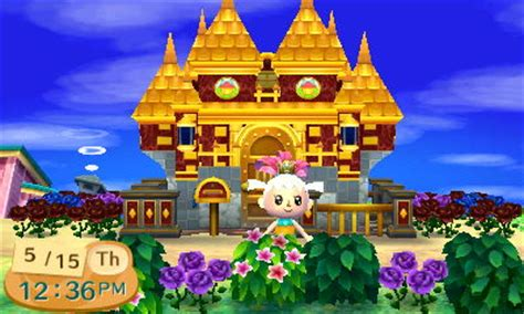 hha themes new leaf gold house in animal crossing new leaf hha by luna