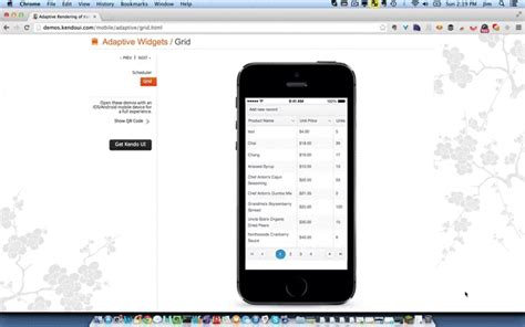 kendo ui mobile listview a look at some of the top mobile ui frameworks