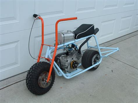 doodle bug wheelie bars 2 mini bikes for sale