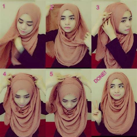 tutorial hijab arab simple hijab tutorial for proper chest coverage hijabiworld