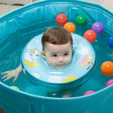 vvcare bc sr01 baby swimming neck float ring safety aid