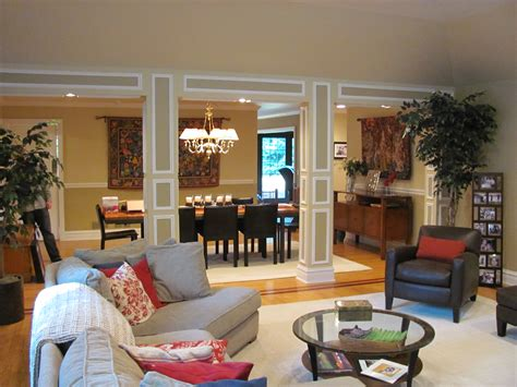 separate living room and dining room living room and dining nerdstorian awesome how to divide dining room and living room