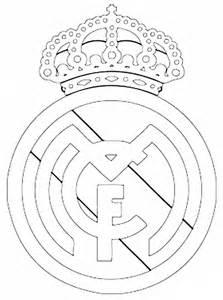 escudo del madrid para colorear az dibujos para colorear pin dibujos escudo del real madrid dibujo para colorear