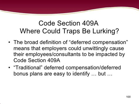 what is section 409a 2008 hot topics in labor employment law