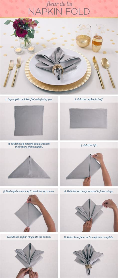 How To Fold Paper Napkins Fancy - easy napkin folding techniques that will impress ftd