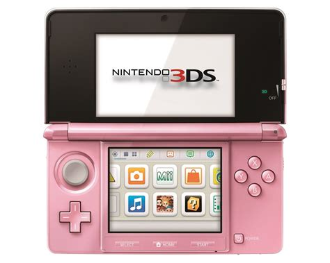 nintendo 3ds handheld console pearl pink ebay nintendo 3ds pearl pink handheld wi fi system with