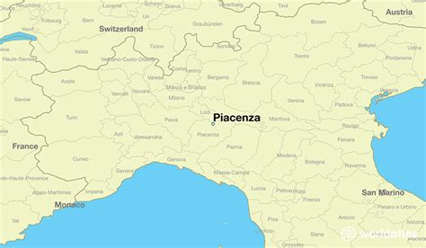 piacenza italy map where is piacenza italy piacenza emilia romagna map