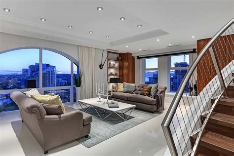 the living room vancouver lavish affluence and amazing views form posh vancouver penthouse best of interior design