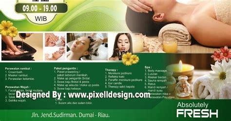 desain banner yang menarik contoh banner iklan spa dengan desain cantik dan menarik