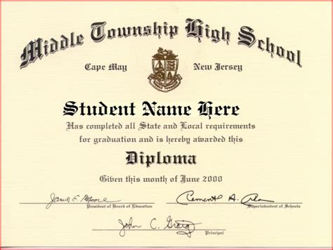 50 Free High School Diploma Template Printable Certificates College Graduation Certificate Template
