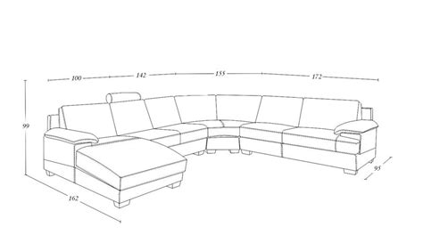 l shaped couch dimensions l shaped sectional dimensions images