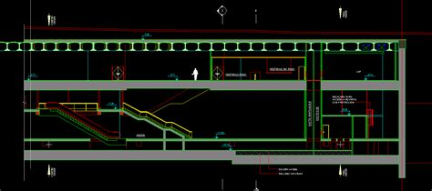 autocad section escalators dwg section for autocad designs cad