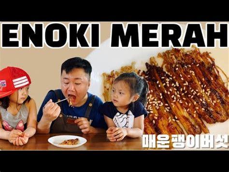 resep enoki pedas korea viral youtube