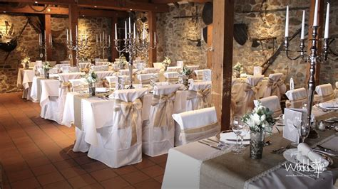 Hochzeit Scheune by Hochzeitdeko Heiraten Im Schloss Auerbach Weddstyle