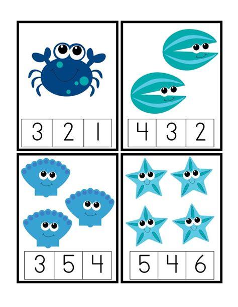 preschool printables the blue sea printable