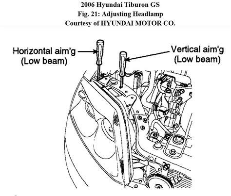 2001hyundai tiburon low beam wiring schematic tiburon