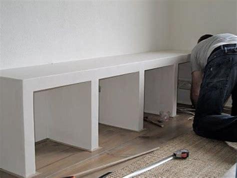 schouw zelf maken van gasbetonblokken kast gemaakt van betonblokken interieur zelf maken