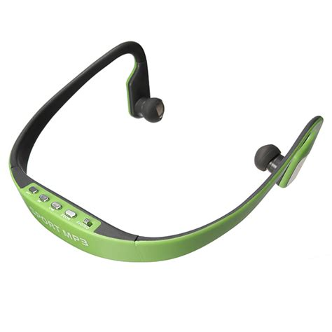 Headphone Musica Tf Mp3 D 268 sport wireless headset headphone mp3 player earphone