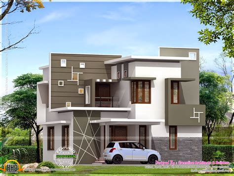 budget modern house kerala home design floor plans home