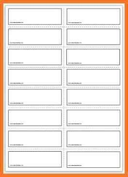 template for flash cards in word flashcard template sow template