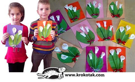 krokotak prolet krokotak diy calla lilly with drinking straws cotton