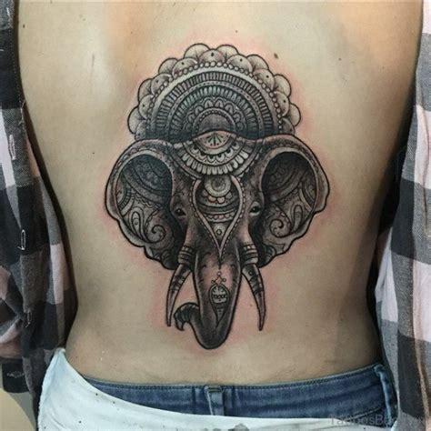 elephant tattoo back 58 incredible elephant tattoo on back