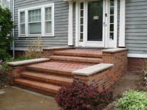 Brick Stairs Design Brick Front Steps Exterior Home Remodel