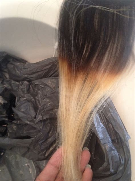 Best Colour To Use On Bleached Hair To Give Low Lights | how to bleach hair extensions snapguide