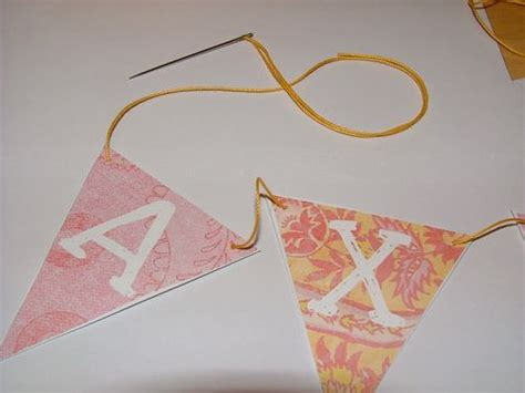 Make Your Own Paper Bunting - make your own paper bunting free printable lasso the