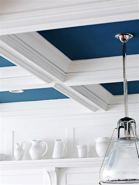 Blue Ceiling 5 Navy Blue And White Chic Contemporary Diy Projects