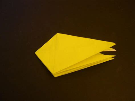 Origami Robin - origami robin folding how to make an