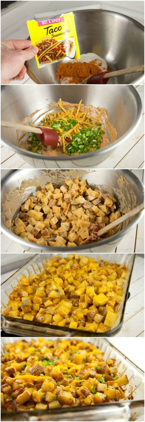 tex mex ranch potatoes this looks like a quick and easy