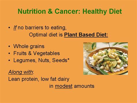 cancer diet nutrition and cancer grace cancer basics