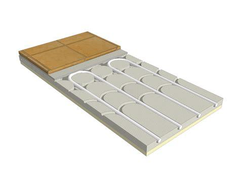 sistema radiante a pavimento ecofloor slim sistema radiante a pavimento ribassato