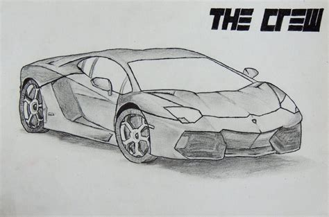 Lamborghini Drawings How To Draw Lambo Aventador