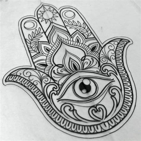 hand of hamsa tattoo designs image result for of fatima islam beautification