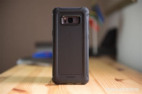 Premium Spigen Samsung S8 Spigen Rugged Armor Black we wrapped the galaxy s8 in spigen s newest cases and found there s something for everyone