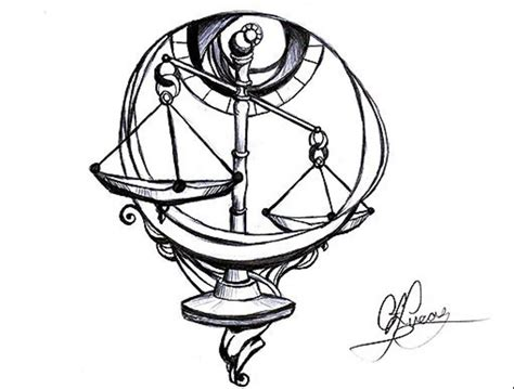 Beautiful Libra Weighing Scale Awesome Tattoo On Wrist   Tattooshunter.com