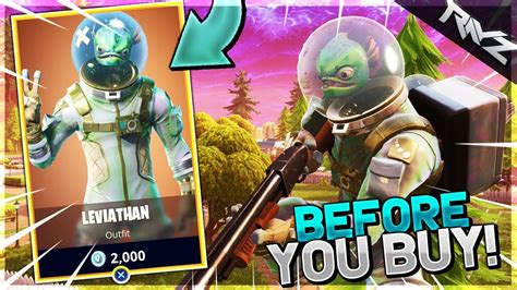 which fortnite skin should i buy before you buy the new quot leviathan quot skin should you buy