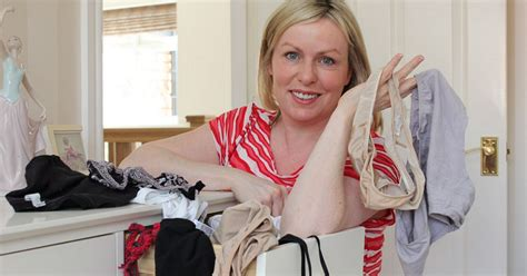 Knicker Drawer Photos by Tv Presenter Nicola Sands How Cleaning Knickers