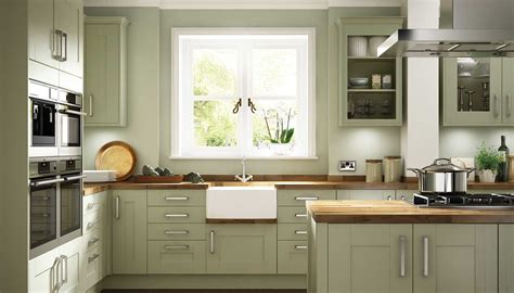 modern concept green kitchen cabinets with olive green