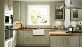 Somerset olive green kitchen