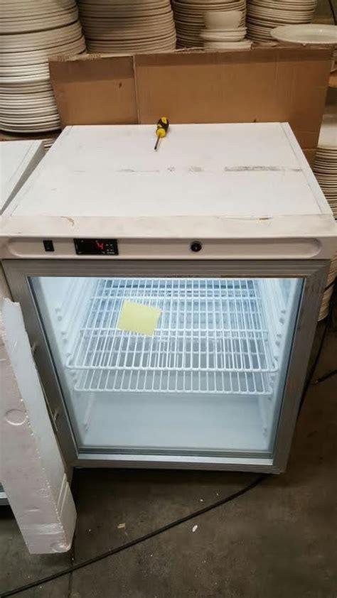 bottle fridge glass door secondhand shop equipment drinks display fridges