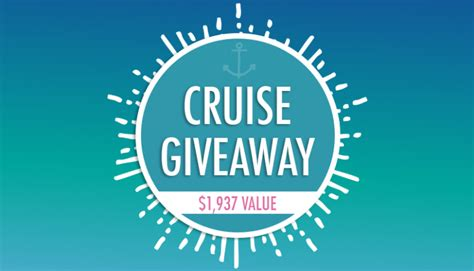 Cruise Giveaway - a lighter me cruise giveaway 1 937 value obesityhelp