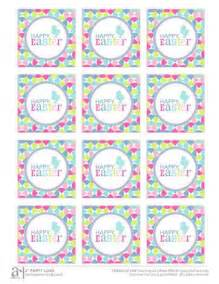 Easter Name Tags Template by Happy Easter Printable Label Templates Ol713