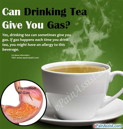 what can i give my for gas can tea give you gas